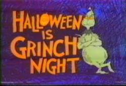 GRINCH AND HALLOWEEN