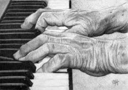 Old Piano Hands